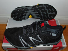 New Balance minimus running shoes minimalist trail mens 7 2E = womens 8.5 black