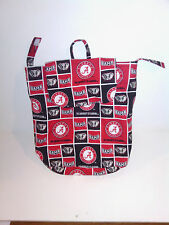 Alabama Crimson Tide Woman's Cotton Bag Backpack Lined with Pockets