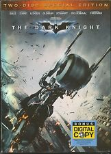 THE DARK KNIGHT SPECIAL EDITION DVD 2 DISC BRAND NEW SEALED WITH SLIPCOVER