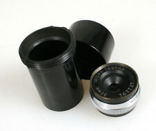 BAUSCH AND LOMB 32MM F4.5 MICRO TESSAR LENS, SCREW MOUNT IN CASE