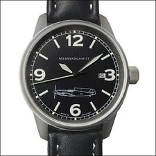 Aristo Messerschmitt Swiss Quartz Pilot Watch with 41mm Titanium Case #ME109M