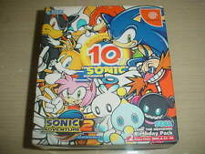 Sega Dreamcast DC Sonic Adventure 2 Birthday Pack Japan Import Game NEW