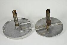 2 dischi da taglio macchina cucina professionale cutter tagliaverdure -0B9bis(