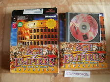 ELDORADODUJEU     BIG BOX AGE OF EMPIRE THE RISE OF ROME EXPENSION PC Français