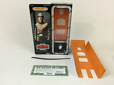 "custom Vintage Star wars esb 12"" imperial officer / commander box + inserts"