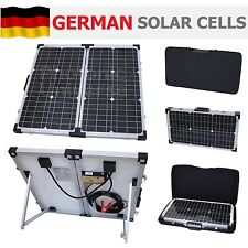 60W folding solar panel kit /12V battery charger motorhome,caravan,boat,camping
