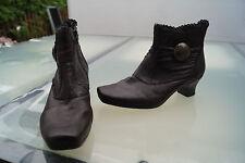 schicke RIEKER Damen Winter Schuh Boots Stiefel Pumps gefüttert Gr.39 braun #81