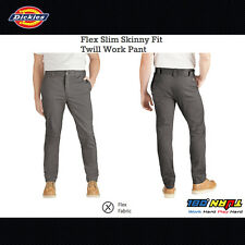NWT DICKIES Flex Slim Skinny Fit Twill Work Pant WP803 Cotton Blend