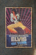 Elvis Tour Poster  On Tour 1969 Lobby Card