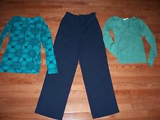 Lots of 3 Pcs Womens Outfits, Size XS, Pre-owned