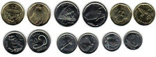 FIJI: 2012 7-PIECE UNCIRCULATED COIN SET:  0.05 TO $2, ANIMALS