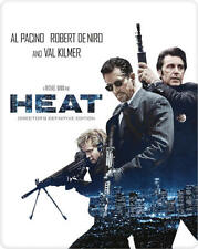 Heat (2000 ONLY Zavvi Exclusive Director's Limited Ed Blu-ray Steelbook) [UK]
