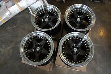 "JDM Rotifom Style 15"" pcd114.3 pcd100x4 wheels ae86 datsun Z31 miata mx5 mx-5"