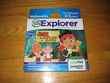 New LeapFrog Explorer Learning Game Jake and the Neverland Pirates **NEW**