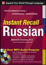 Instant Recall Russian, 6-Hour MP3 Audio Program Gruneberg, Michael Audio CD