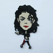 MICHAEL JACKSON KING OF POP EMBROIDERED IRON ON PATCH T-SHIRT JACKET JEAN CAP