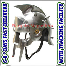 Fully Wearable Gladiator Movie Helmet Roman Arena Knight Maximus Armour Helm Am1