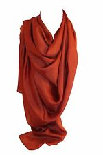 New Plain Thai Silk Wrap Scarf Stole Shawl Hijab Head Scarves in Bright Coloures