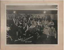 1945 Halloween Party Picture - no costumes -  9 x 7""