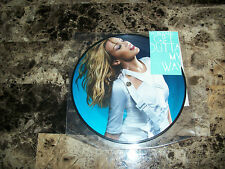 "Kylie Minogue RARE Limited Edition 7"" Vinyl 45 Picture Disc Get Outta My Way NEW"