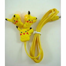 NEW Pokemon Pikachu Mobile Headphone Headset Earphone Earbud For iPhone MP3 /4
