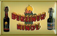 Blechschild Berliner Kindl Bier (2) Berlin Biere retro Schild Nostalgieschild