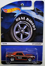 Hot Wheels Real Riders! 13/18 '69 Chevy Camaro! New! American