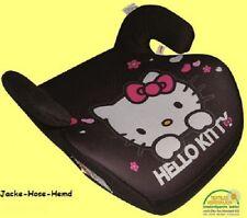 Hello Kitty Kindersitzerhöhung schwarz bis 36kg Kindersitz Autositz