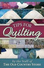 Tips for Quilting-ExLibrary