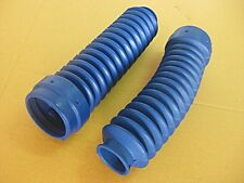"YAMAHA TW200 TRAIWAY GAITER FORK BOOT RUBBER COVER ""BLUE"""