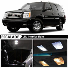 16x White Interior LED Lights Package for 2002-2006 Cadillac Escalade SUV + TOOL