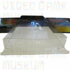10 Custom Clear Plastic Box Protectors Archival Case Sleeves for NES Boxed Games