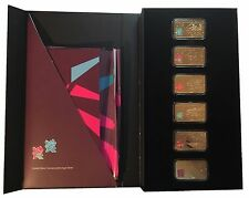 2012 London Olympics Limited Edition Commemorative Ingot Series