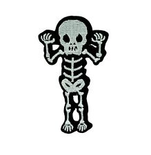 Patch patches backpack skeleton pirate skull military morale pirate ion on / Sew