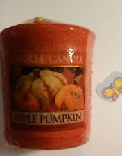 YANKEE CANDLE VOTIVE APPLE PUMPKIN RARE AND AWESOME HUNDREDS LISTED