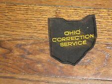 ohio correction service  , patch new old stock,1980's