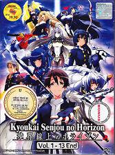 Kyoukai Senjou No Horizon Season 1 DVD Eps : 1 to 13 end (ENG SUB)