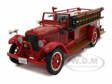 1928 RED FIRE ENGINE RED 1/32 DIECAST MODEL BY SIGNATURE MODELS 32308