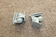 SPEAKER WALL / CEILING MOUNTS PAIR TILT SWIVEL ROTATE BRACKET UNIVERSAL GREY