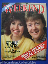 Weekend Magazine - Keith Chegwin/Maggie Philbin, Coral Atkins  27th Mar. 1985