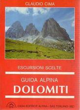 N93 Guida alpina Dolomiti Escursioni scelte Claudio Cima