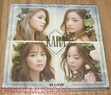 KARA IN LOVE 7TH MINI ALBUM K-POP CD + PHOTOBOOK SEALED