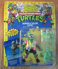 TMNT SEWER-CYCLIN' SPITTING RAPH 1992 Action Figure TEENAGE MUTANT NINJA TURTLES