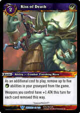 WOW WARCRAFT TCG WAR OF THE ANCIENTS : KISS OF DEATH X 4