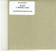 (DP600) K-X-P, Melody - DJ CD