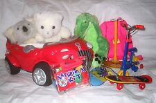 Build A Bear MIXED LOT Car Skate & Surf Board Bike Bicycle Dr Kit Stand Carrier