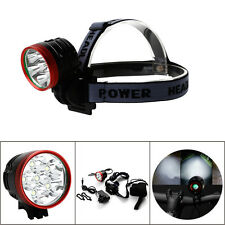 9000lm 6x Cree X-ML T6 MTB Mountain Bike Bicycle Cycling Front Head Lights Lamp