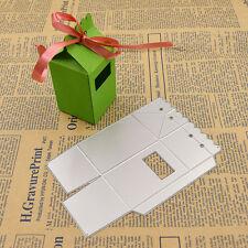 1 Pc Candy Sweet Box Metal Cutting Dies for Stencil DIY Scrapbook Album Paper