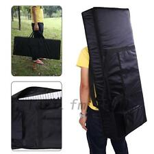 Convenient 61-Key Keyboard Electric Piano Padded Case Gig Bag Oxford Cloth