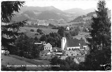 AK, Waldhausen OÖ, vista parziale con Schloßberg, 1963